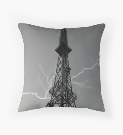 Lightning Rod Throw Pillow