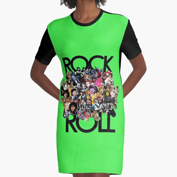 Rock and Roll T-Shirt Kleid