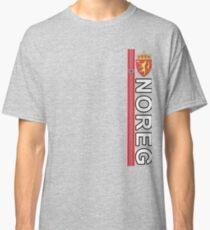 Noreg Norwegian Language National Style Deluxe Classic T-Shirt