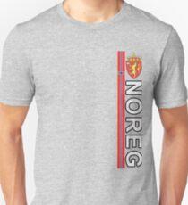 Noreg Norwegian Language National Style Deluxe Unisex T-Shirt