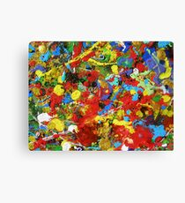 A HAPPY PLACE - ABSTRACT Canvas Print