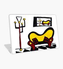 Yellow Sofa Laptop Skin