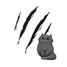 Cat Scratch by sajedene
