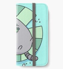 cat lillypad pals iPhone Wallet/Case/Skin