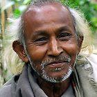 Assamese Man by John Mitchell