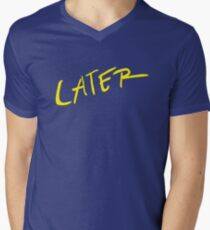 Call Me By Your Name (later) Men's V-Neck T-Shirt