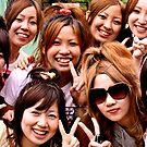 Peace out in Osaka, Japan 2008 by Tash  Menon
