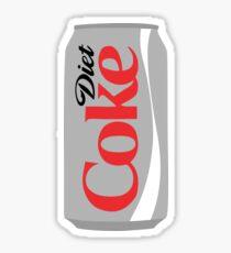 Pegatina Diet Coke