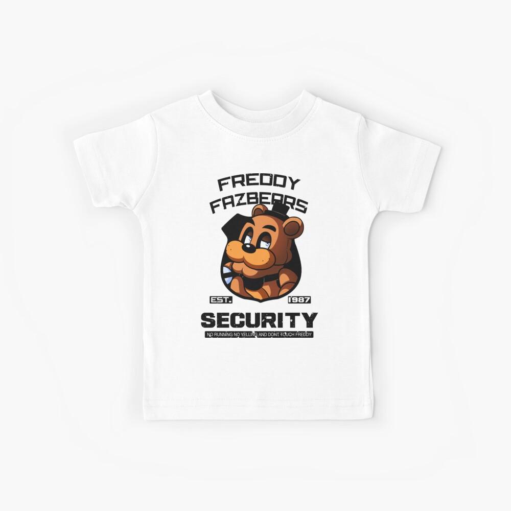 La seguridad de Freddy Fazbear Camiseta para niños