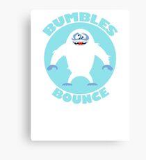 BUMBLES BOUNCE Canvas Print