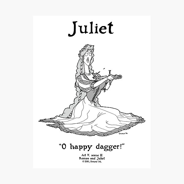 JULIET Photographic Print