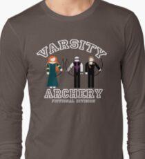 Varsity Archery (Fictional Division) Long Sleeve T-Shirt