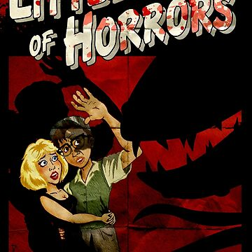 Little Shop of Horrors - pulp style by clockworkmonkey