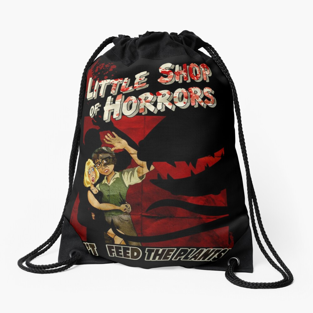 Little Shop of Horrors - pulp style Drawstring Bag