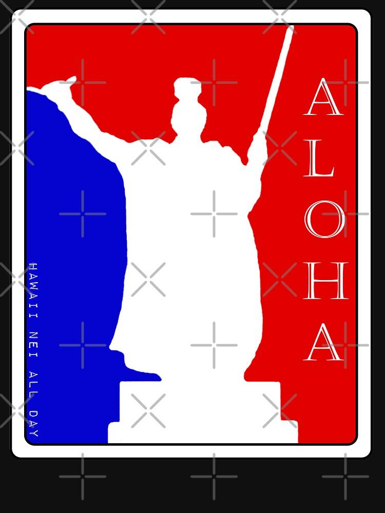 Aloha Spirit King Kamehameha by Hawaii Nei All Day by HawaiiNeiAllDay