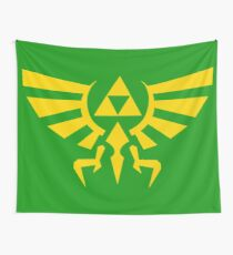 Hylian Crest Wall Tapestry