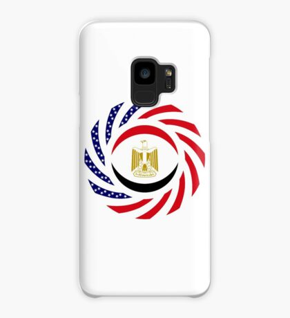 Egyptian American Multinational Patriot Flag Series Case/Skin for Samsung Galaxy