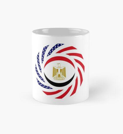 Egyptian American Multinational Patriot Flag Series Mug