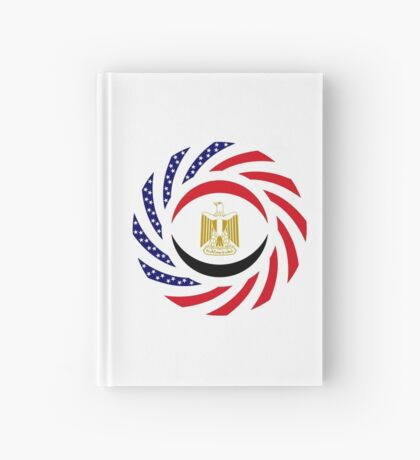 Egyptian American Multinational Patriot Flag Series Hardcover Journal