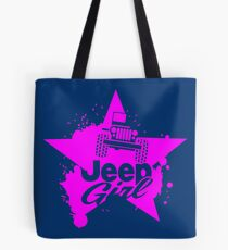 jeep girl Tote Bag