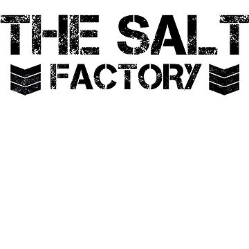 The Salt Factory - White Shirt by SFCGoat