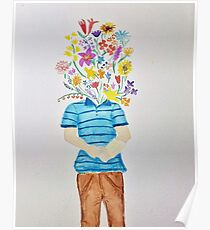 Dear Evan Hansen your head is full of flowers Poster