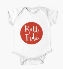 Body de manga corta para bebé Roll Tide
