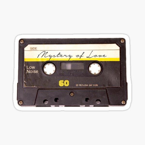 Mystery Of Love Cassette  Sticker