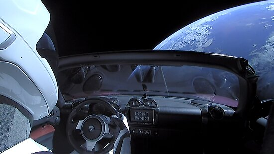 SpaceX Starman - NICHT PANIK! von bobbooo