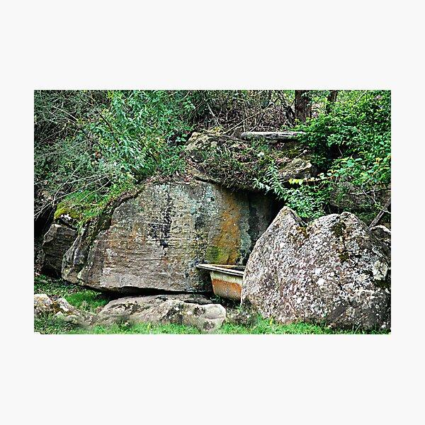 The Bathroom - St Albans Common NSW Photographic Print