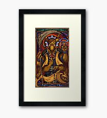 Light Cycles Framed Print