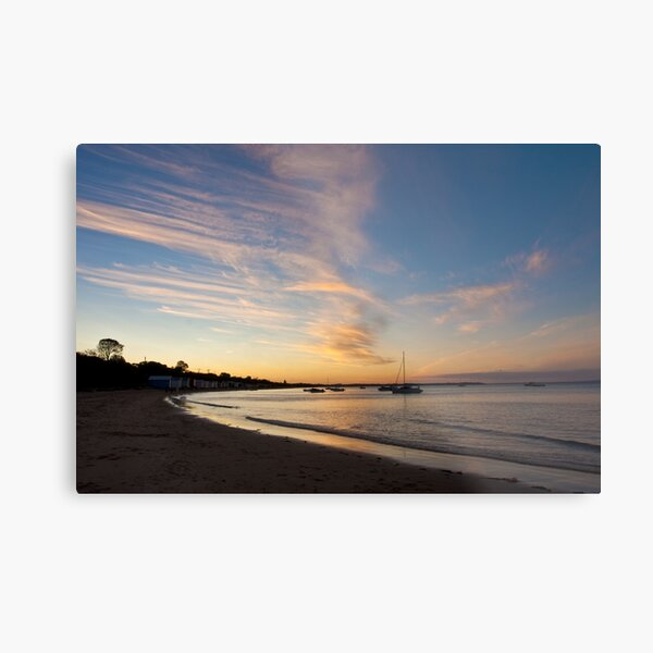 Tyrone foreshore at sunset Metal Print