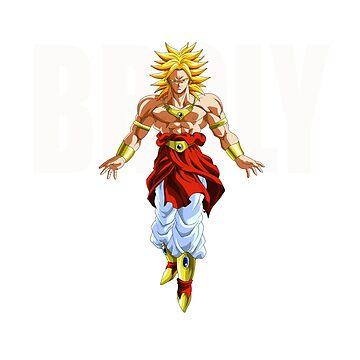 legendary super saiyan broly by DeadThreads