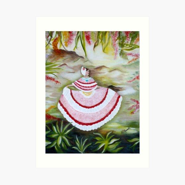 Panama Dancer Art Print