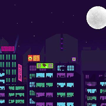 Cyberpunk City by Decimation008