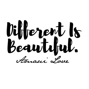 AMAVI Love # DIFFERENT IS BEAUTIFUL Campaign by TONEIQ