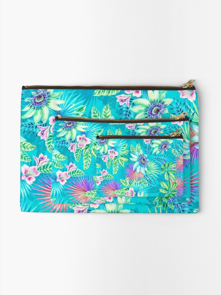 Alternate view of passion fruit  Zipper Pouch