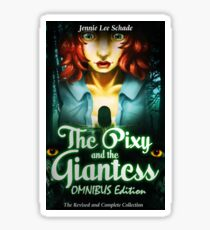 The Pixy and the Giantess - OMNIBUS Cover Art Sticker