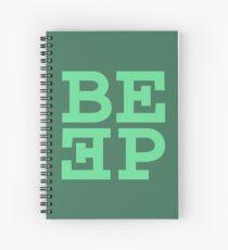 Beep (hanger logo) Spiral Notebook