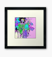 Flower Spring Floral Abstract Framed Print