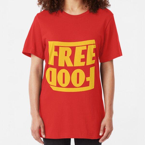 Free Food (hanger logo) Slim Fit T-Shirt