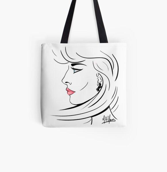 Sophia All Over Print Tote Bag