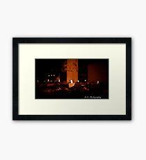 HOLLOWEEN Framed Print