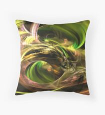 Saterday evening excitement Throw Pillow
