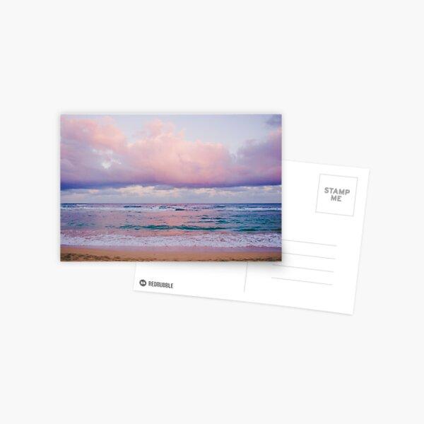 Pastel Beach - Kauai, Hawaii Postcard
