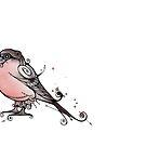 Bullfinch by Jenny Proudfoot