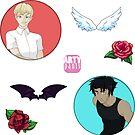 Devilman Crybaby Sticker Set by Artypants1017