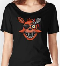 Five Nights at Freddy's 2 - Pixel art - Foxy Women's Relaxed Fit T-Shirt