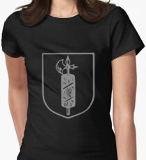 A Complete Guide to Heraldry - Figure 533 — Fasces Women's Fitted T-Shirt