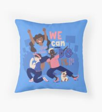 We Can Do It (Together) Floor Pillow